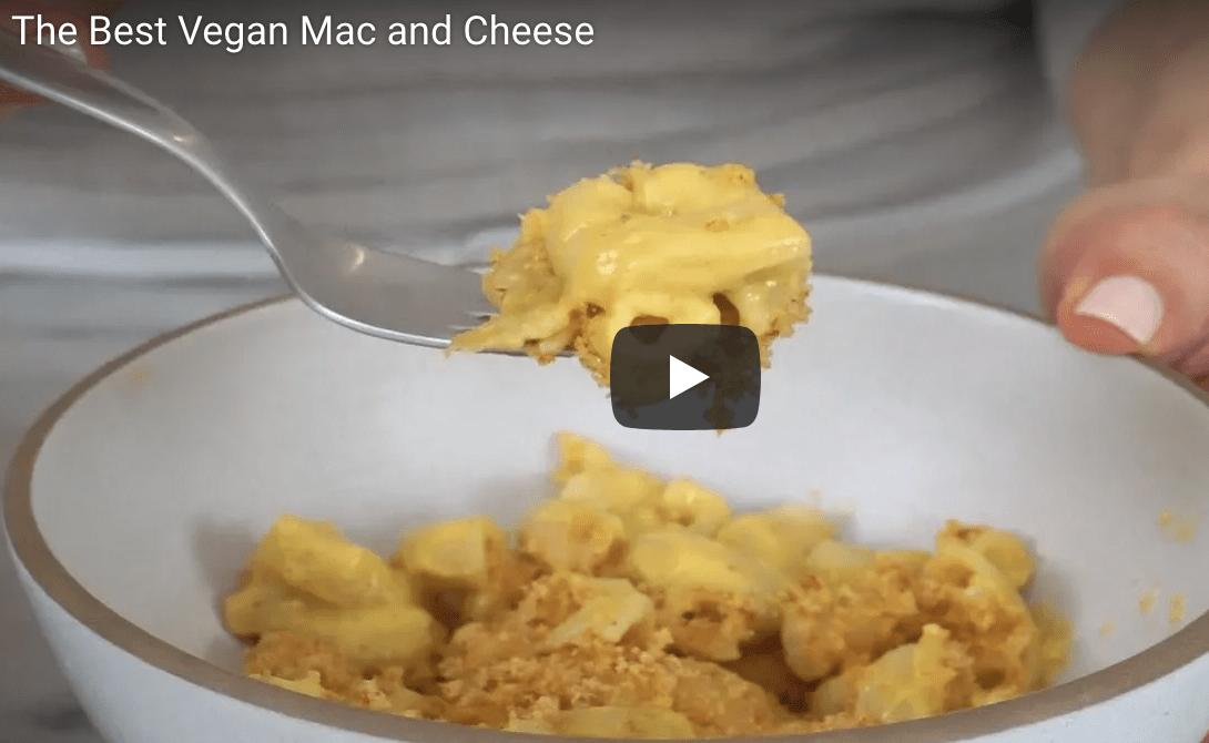 Vegan Mac + Cheese Recipe & Video
