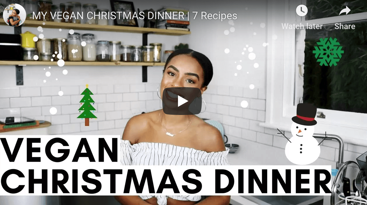 Vegan Christmas ideas via Rachel Ama