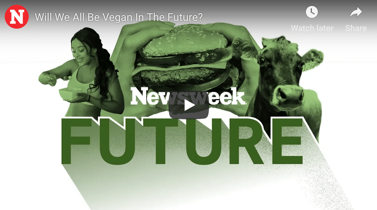 Will we all be vegan in the future?